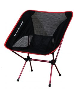 Dhaulagiri Folding Chair Outdoor Camping 800 Hitam