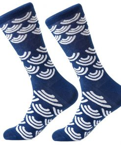 Dorai Socks - Dark Blue Cloud