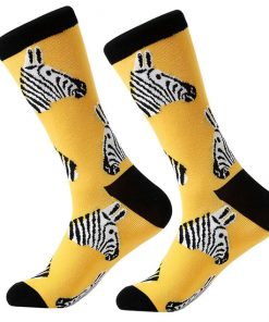 Dorai Socks - Zebra Head