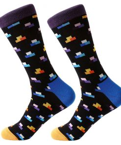Dorai Socks - Tetris Black