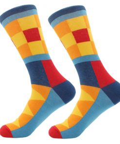 Dorai Socks - Yellow Square