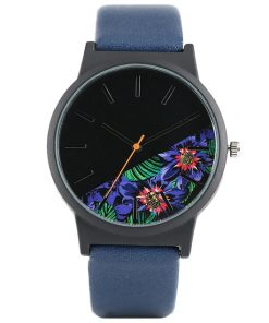 Dorai Watch - Tropical Purple Flower