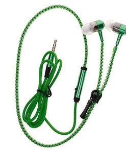 Earphone Zipper Green
