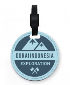 Dorai Luggage Tag Kayu Explorer Biru (custom) (538719) 0