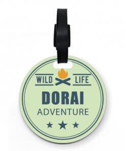 Dorai Luggage Tag Wild Life (custom) (538825) 0