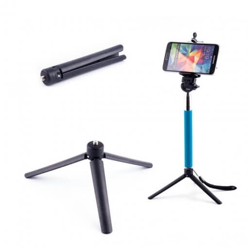 Universal Mini Tripod for Phone, Action & Compact Camera 01