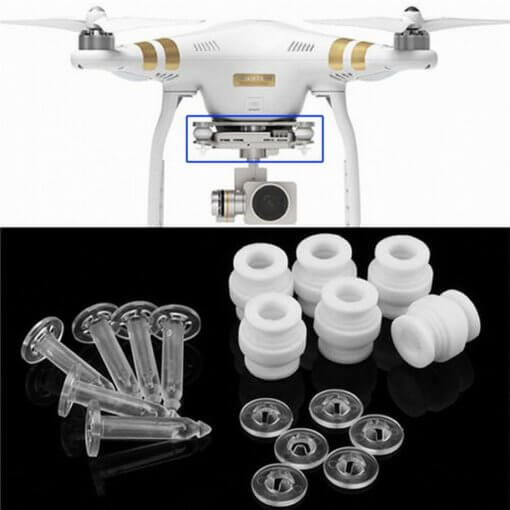 DJI Phantom 3 Gimbal Damping Rubber Balls & Anti-drop Pins Kit 02