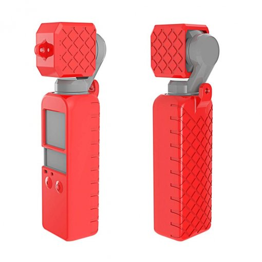 Osmo Pocket Soft Silicone 2in1 Merah 01