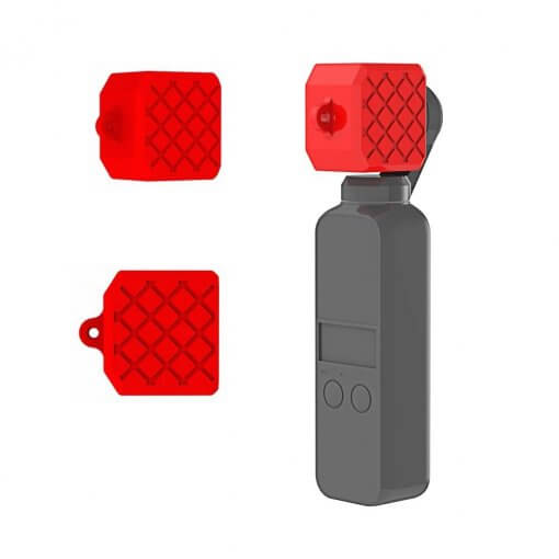 Osmo Pocket Soft Silicone 2in1 Merah 03