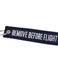 Remove Before Flight Key Chain - Biru Dongker - 03