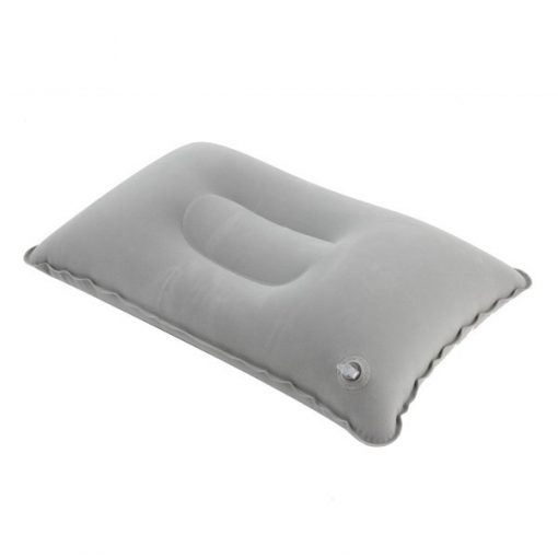Bantal Angin Portabel Inflatable Grey 02